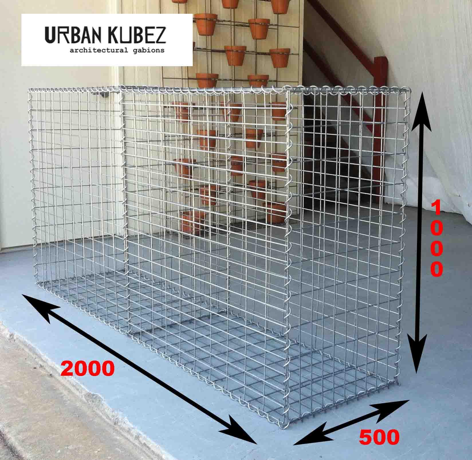 gabion cages, urban kubez, gabion basket, gabion rock, gabion retaining wall, gabion feature, gabion letterbox