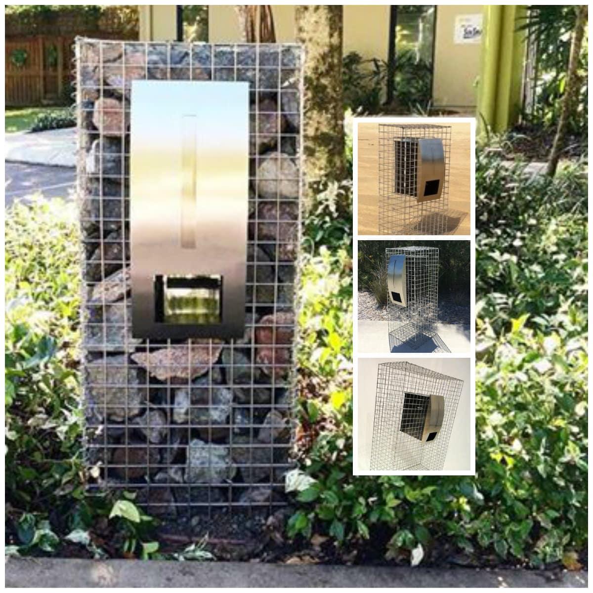gabion cages, urban kubez, gabion basket, gabion rock, gabion retaining wall, gabion feature, gabion letterbox, gabion baskets queensland